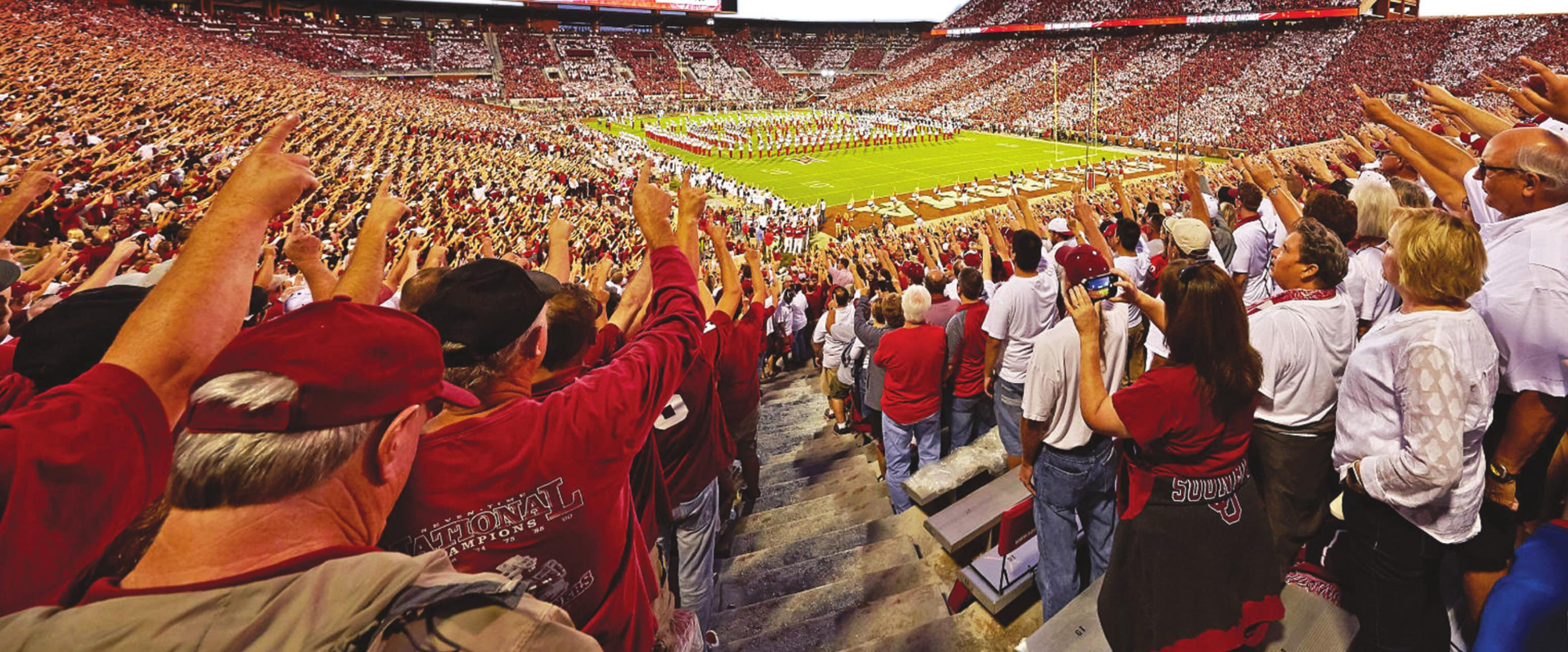 OU is one of a few schools which has announced plans to reopen facilities for college football. Provided
