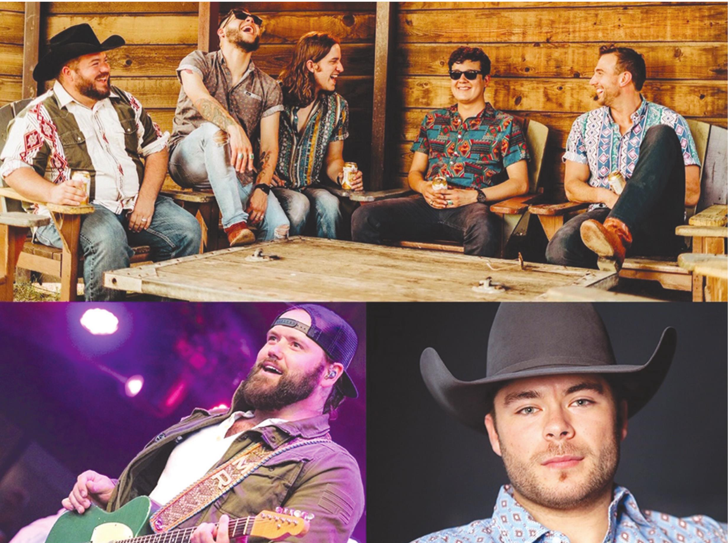 Provided Flatland Cavalry, top, Mike Ryan, bottom left, and Triston Marez will perform at SWOSUpalooza October 22. Flatland Cavalry, Mike Ryan and Triston Marez. SWOSUpalooza 2020 has been rescheduled for Thursday, October 22, during Homecoming Week at Southwestern Oklahoma State University in Weatherford.Tickets are $15 in advance and $20 on the day of the show.