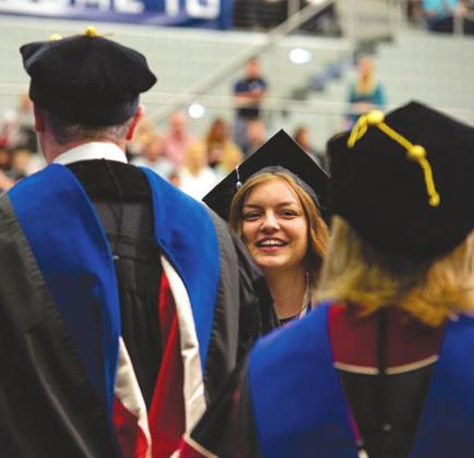 SWOSU's commencement ceremonies will be April 30, May 1 and May 2 this year. Provided
