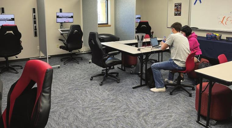 Pictured is the new learning lounge located inside the Stafford Center Room 118 at Southwestern Oklahoma State University campus. The lounge is welcome to all SWOSU students. Montgomery Malone/WDN